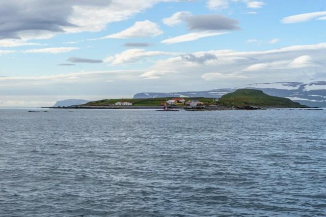 Unerreichbare Insel Vigur