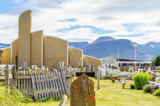 Stadtkirche von Isarfjörður