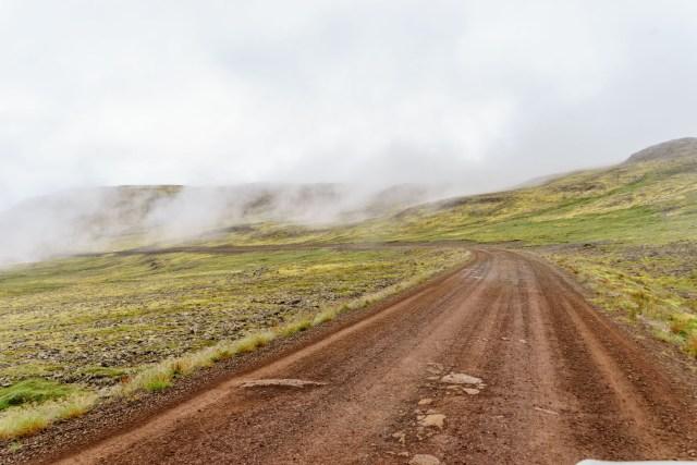 Auf dem Weg nach Rauðasandur