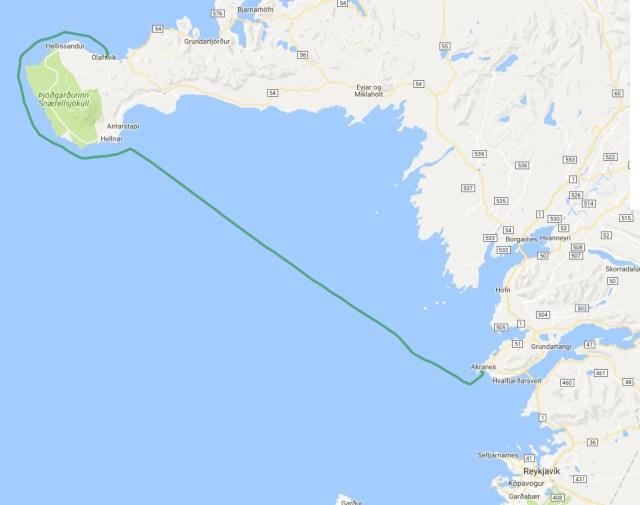 Olafsvík - Akranes