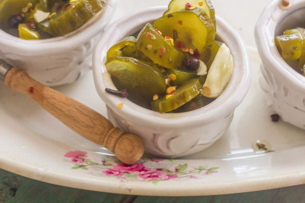 Fire and Ice Pickles. Transform store bought dill pickles into a sweet, sour, spicy version. No canning required.