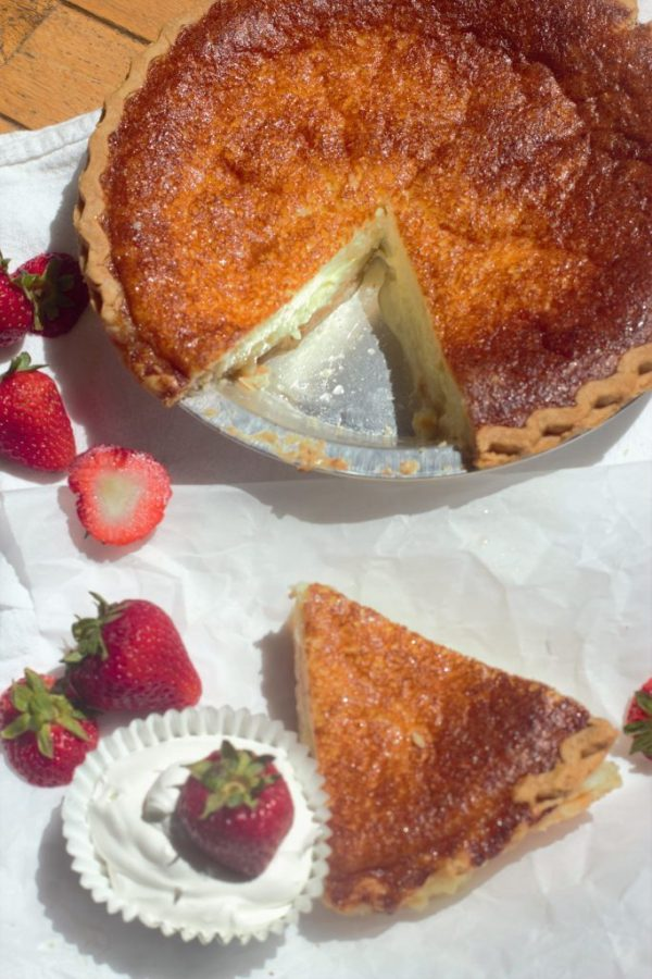 Southern Buttermilk Pie. Cool, creamy and lemony. An easy nostalgic pie that's perfect in every way.