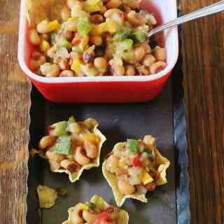 Mississippi Caviar. Blackeye peas, sweet peppers, jalapeno peppers, bell peppers, onions an garlic in an olive oil vinaigrette. Great to use as a relish or dip.