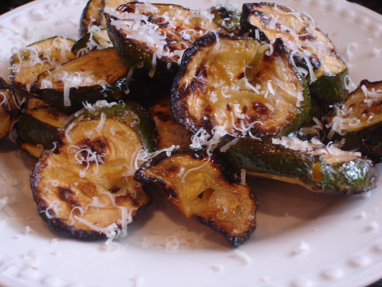 Grilled Rosemary Marinated Zucchini