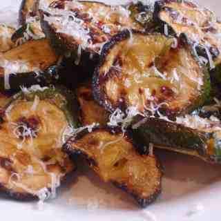 Grilled Rosemary Zucchini