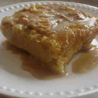 Respectful Cooking (recipe:  Biscuit Pudding with Bourbon Sauce)