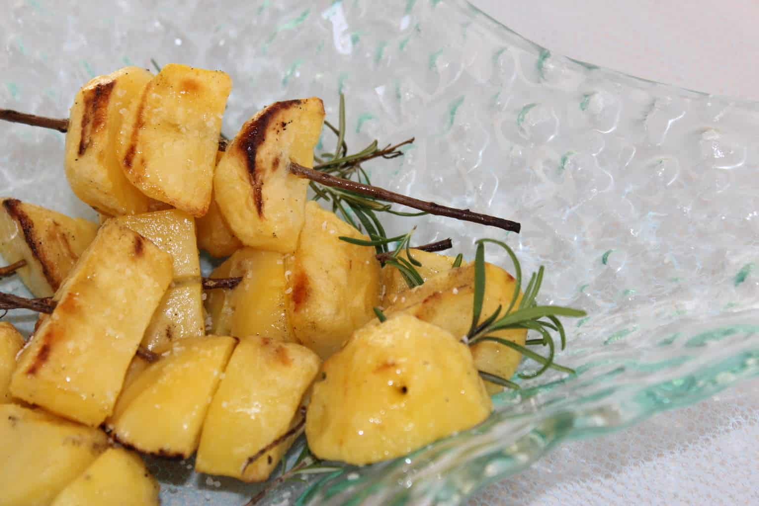 Perfect Potatoes (Recipe: Grilled Rosemary and Garlic Skewered Potatoes)
