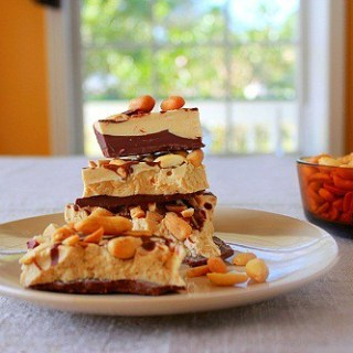 Peanut Butter Chocolate Bark