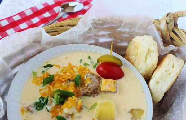 Cheeseburger Chowder ~ Syrup and Biscuits