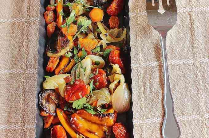 Clean out your produce bin and make a delicious side dish.