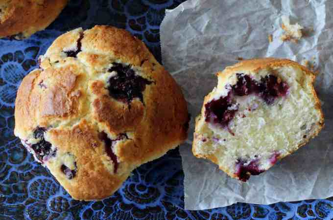Blueberry Buttermilk Muffin #blueberry #muffin #southernfood #southern