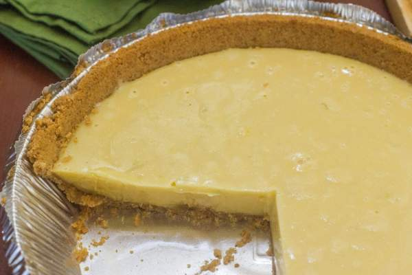 Key Lime Pie. An iconic Florida dessert made from Key lime juice, sweetened condensed milk, egg yolks and lime zest in a graham cracker crust.