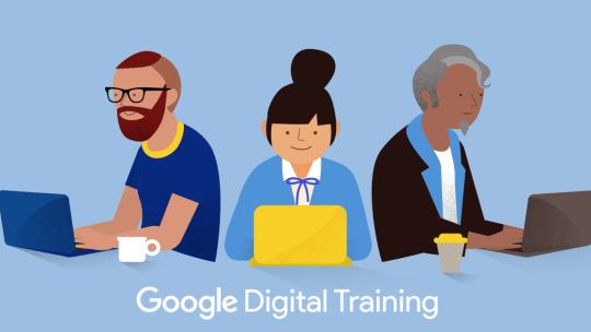 Partecipa ai corsi di formazione gratuiti Google Digital training
