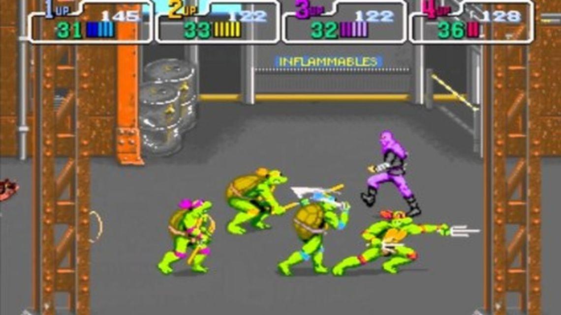 TMNT Teenage Mutant Ninja Turtles Arcade 1989