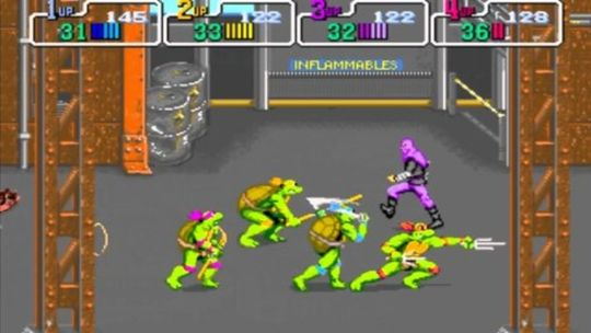 TMNT Teenage Mutant Ninja Turtles Arcade 1989