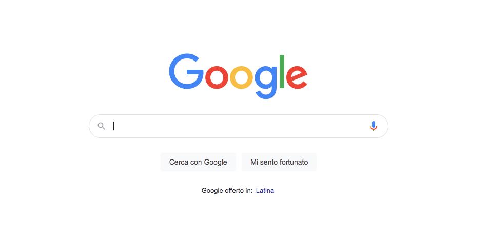 Come tornare a Google classico