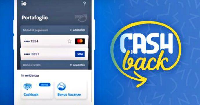 Come inserire l'IBAN sull'App IO per ricevere il cashback di Stato nel 2021