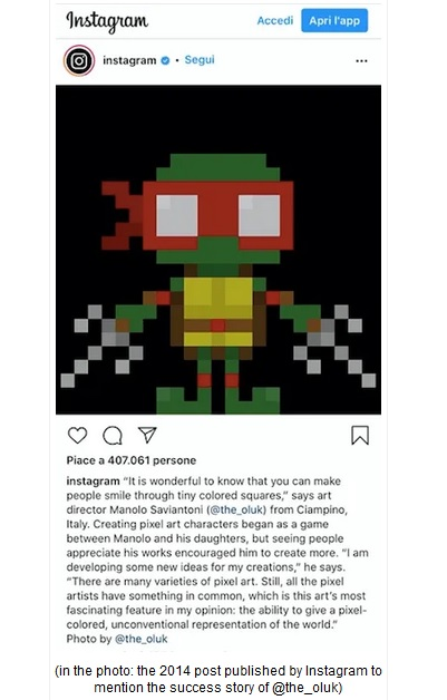 The Oluk Instagram