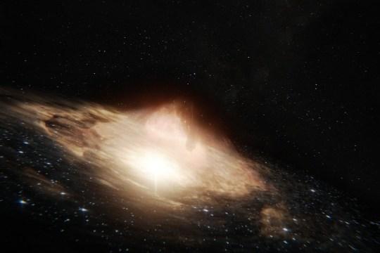 A pulsação de um buraco negro é detectada por astrônomos