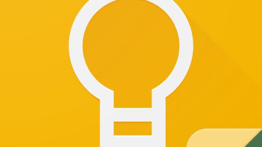Использование Google Keep в документе или презентации Google Диска