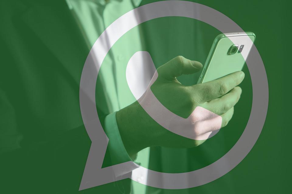 Как переслать картинку с текстом в WhatsApp