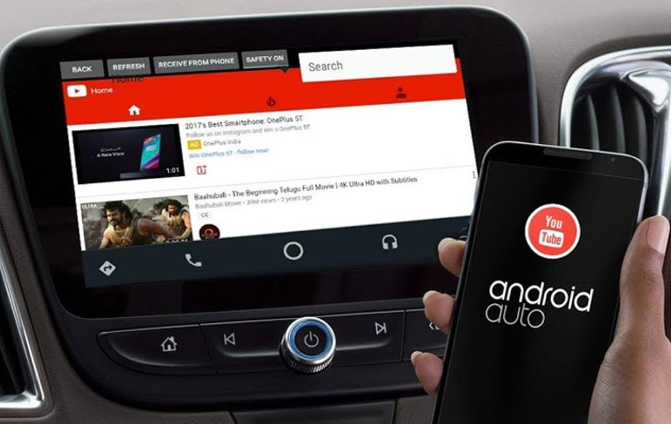 Voici les vidéos que vous pouvez voir avec Android Auto: Youtube en streaming et encore plus