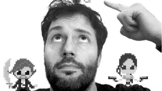 El italiano Pixel Art Maker de 8 bits «The Oluk» es la historia más maravillosa que leerás hoy