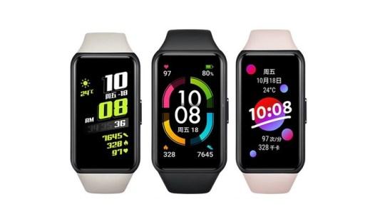 Honor Band 6, la pulsera inteligente que promete 14 días continuos de funcionamiento