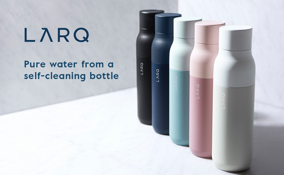 Discover how LARQ's self-cleaning water bottles work