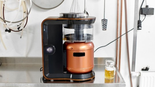 Minibrew: A home brewing system