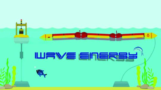 What is the energy of the waves and how does it benefit us?