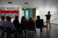 Activist Love Letters, Lethbridge Art Gallery Performance, 2014