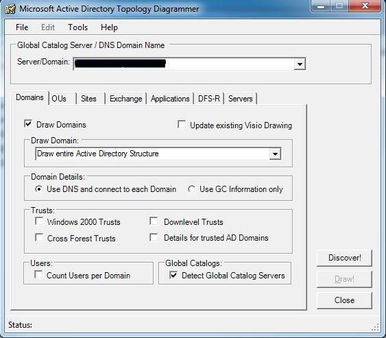 Installation Et Utilisation De Active Directory Topology