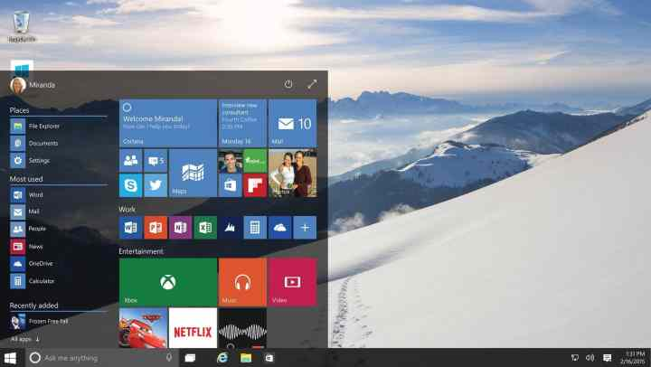 fin de support windows 10