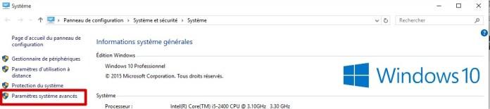 Windows10 - Système