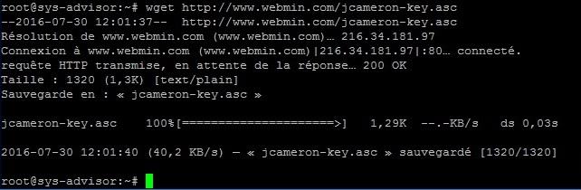 SPLASH_[TUTO] - Installer MySQL Apache et Webmin sur Debian12