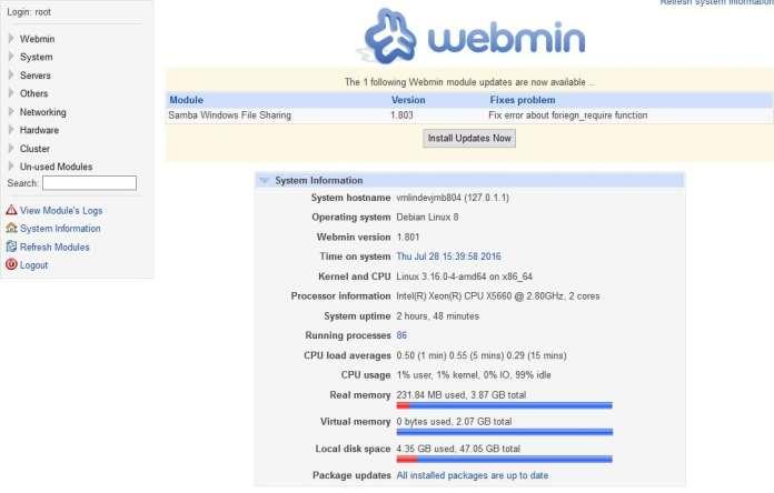SPLASH_[TUTO] - Installer MySQL Apache et Webmin sur Debian14