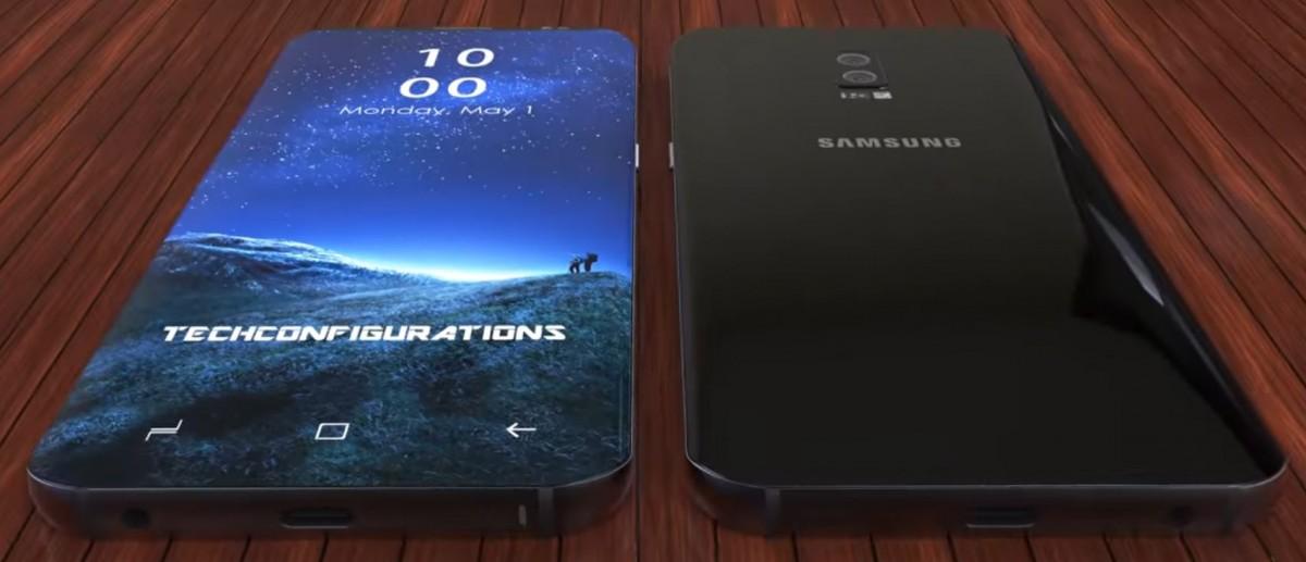 جلاكسي s9 - تسريب صور جديدة توضح شكل وتصميم هاتف سامسونج جلاكسي S9 الرائد المنتظر