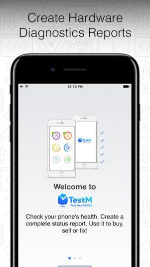 4 10 - تطبيق TestM يعطيك تقرير عن أعطال وعيوب هاتفك أو الهاتف المستعمل الذي ترغب بشراءه