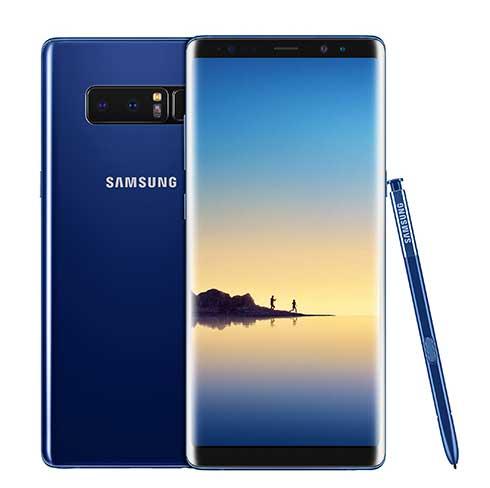 Galaxy Note8 Deepsea Blue - احصل على خصم يصل إلى 400 دولار عند استبدال جوالك القديم بأحد جوالات سامسونج الجديدة