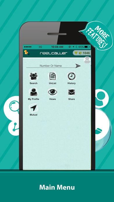 4 6 - تطبيق ريل كولر- دليل هوية رقم المتصل ويسهل لك الوصول إلى أرقام المشاهير وغيرها