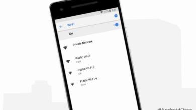 صورة الآن بـأندرويد يمكن للمستخدم معرفة سرعة وقوة شبكات الواي فاي بسهولة قبل الاتصال بها