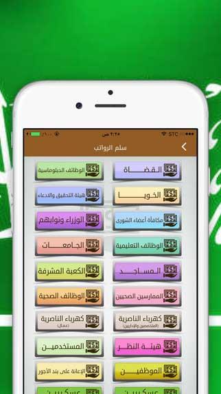 6 1 - تطبيق سلم رواتب السعودية الشامل يعطيك لمحة عن رواتب الموظفين الأساسية بالقطاعات العامة