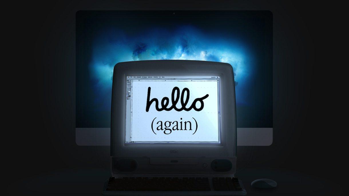000001 - ابل تحتفل بمرور عشرين عاما علي ظهور الجيل الاول من حواسيب iMac
