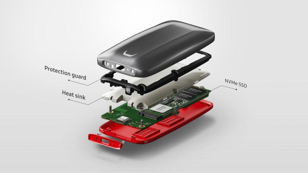 FB4 BeCool 082318 1024x576 - سامسونج تكشف رسميًا عن قرص التخزين المتنقل SSD X5 بسرعة نقل هائلة
