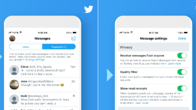 Photo of تويتر تطلق تحديث جديد لخاصية الرسائل تتيح طلبات الرسائل للغير متابَعين