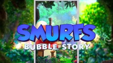 صورة لعبة السنافر Smurfs Bubble Story الممتعة، متاحة لجوالات الآندرويد والآيفون