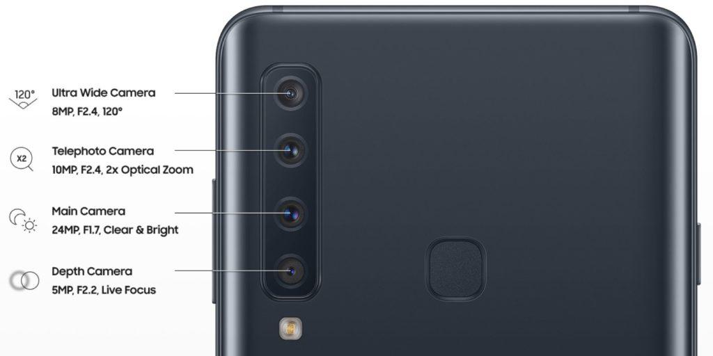 1 3 - سامسونج تستعد لإطلاق الهاتف الجديد جالكسي A9 مع أربع كاميرات خلفية
