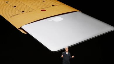 صورة مؤتمر آبل: آبل تعلن رسمياً عن الجهاز الجديد MacBook Air ببطارية تدوم 13 ساعة