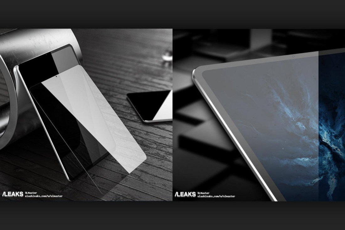 iPad Pro 2018 leaks with slim bezels no notch in sight - تسريب أول صور كاملة لجهاز آبل الجديد آيباد برو تكشف عن مواصفاته